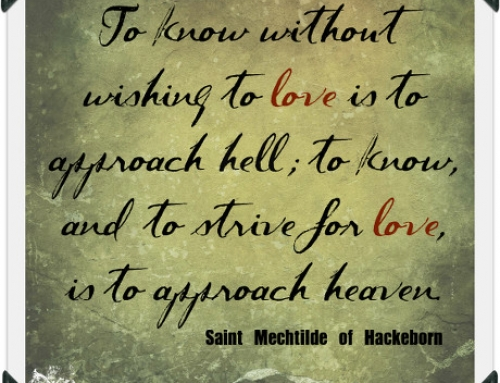 Wisdom of the Saints Wednesday – St. Mechtilde of Hackeborn