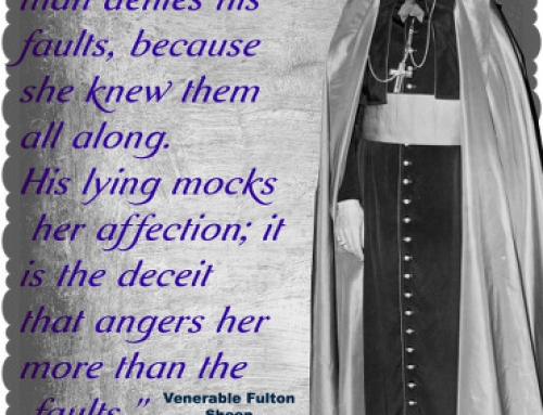 Wisdom of the Saints Wednesday – Venerable Bishop Fulton Sheen