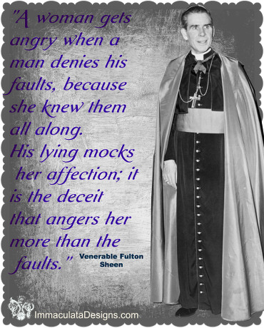Venerable Bishop Fulton Sheen Quote