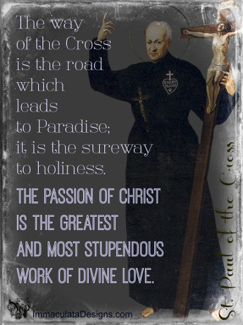 St. Paul of the Cross Quote