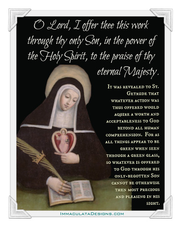 St Gertrude the Great Quote
